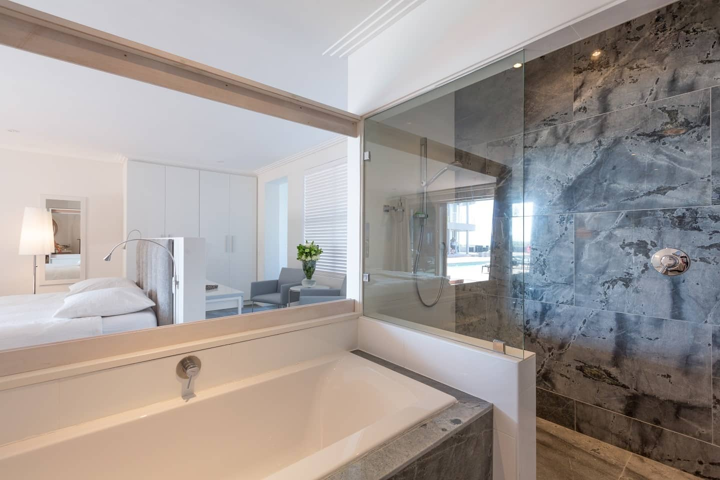 Atlantic Palms Luxury Apartments Sunset Beach Cape Town - Luxury apartments bathrooms