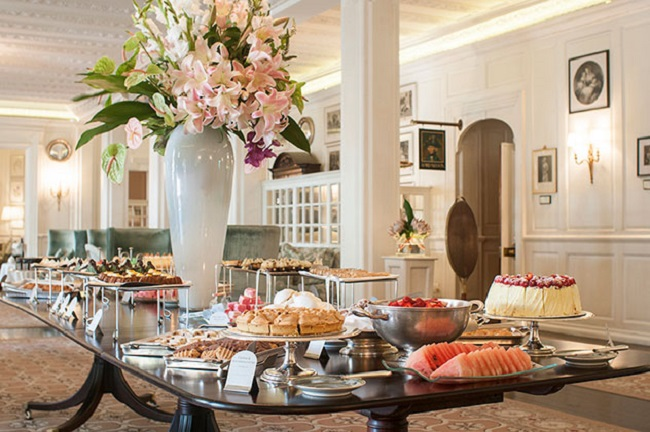 High Tea in Cape Town at the Mount Nelson