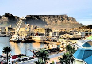 v&a waterfront cape town view