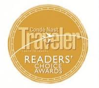 Conde Nast Readers choice award Cape Town 2012