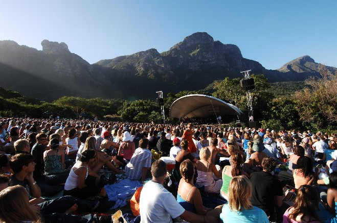 Cape Town Summer Concerts & Open-Air Cinema 2014