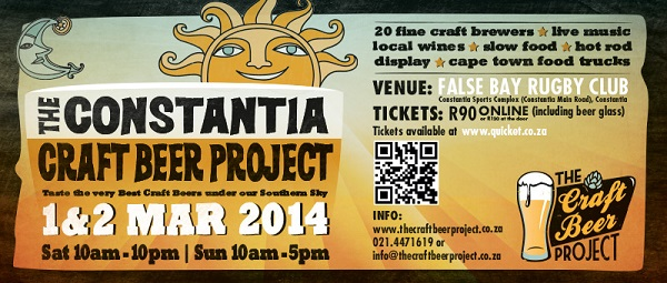 Win Tickets to the Constantia Craft Beer Festival 2014