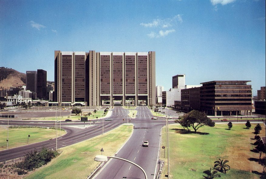 The Civic Centre in 1981 – What a difference!