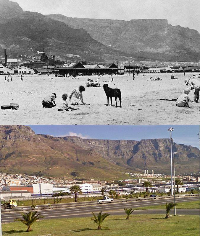 Woodstock Beach in 1933 and look now!