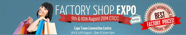 Factory Shop Expo Comes to Cape Town