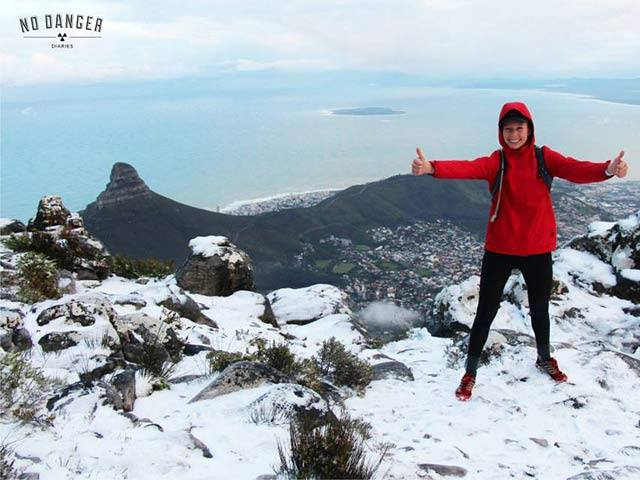 Who remembers the snow on Table Mountain last year?!