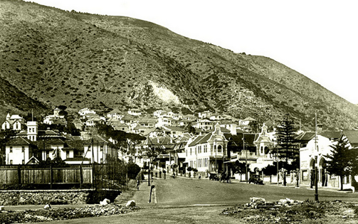 Blast from the past – Glengariff Road, Sea Point circa 1925.