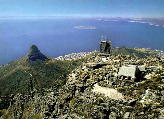 The top of Table Mountain circa 1978!