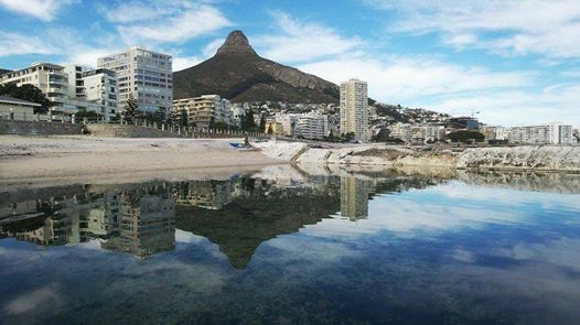 Beautiful reflection of Lion's Head!