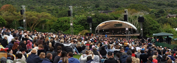 Kirstenbosch gardens events garden ftempo for Botanical gardens concert series