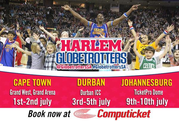 Harlem Globetrotters Are Coming to Cape Town
