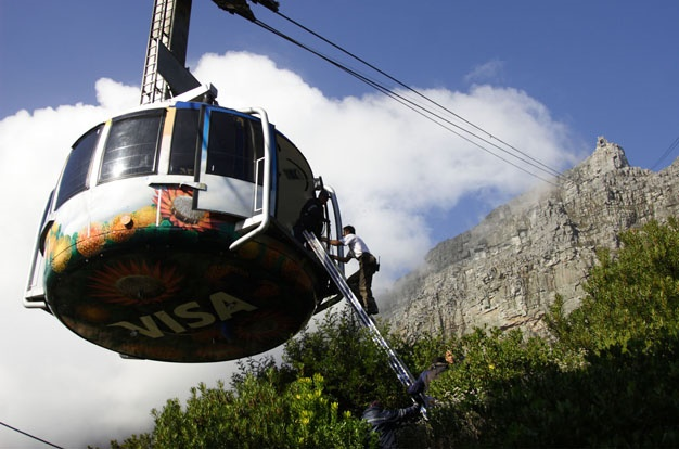 Table Mountain Cableway in Cape Town Gets an Upgrade