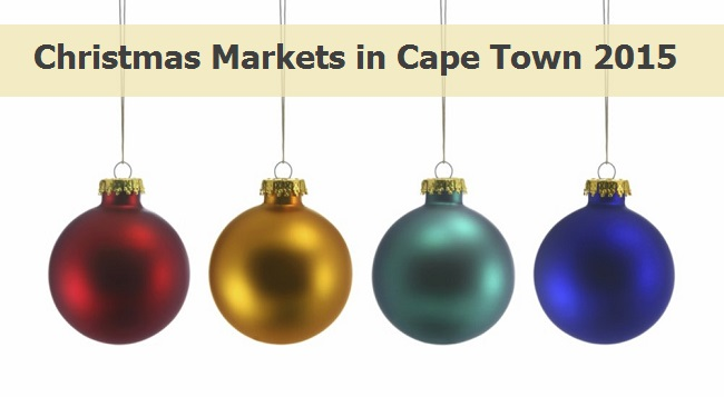 Christmas Markets in Cape Town 2015
