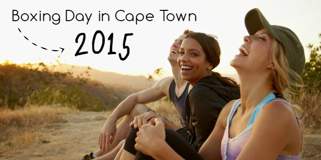 What to do on Boxing Day in Cape Town 2015
