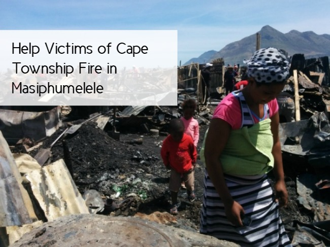 How to Help Victims of Cape Township Fire in Masiphumelele