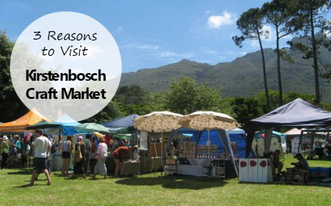 Why Visit the Kirstenbosch Craft Market in Cape Town?
