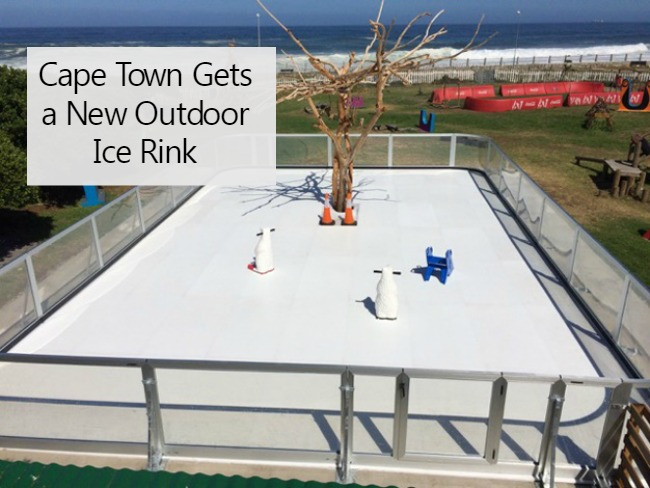 Brand New Outdoor Ice Rink in Cape Town