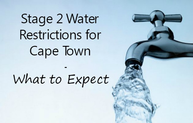 Cape Town Water Restrictions Are Here