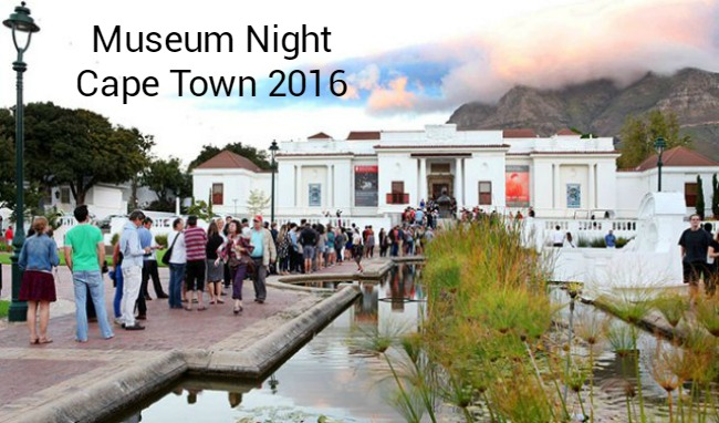 Museum Night Cape Town 2016