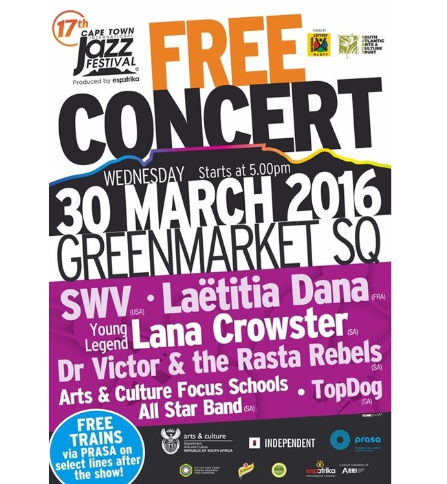 Free Cape Town Jazz Concert
