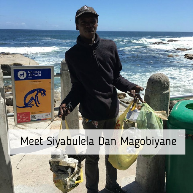 Homeless Man Cleans Up Cape Town Beach