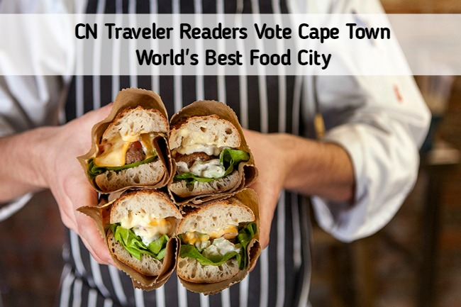 Cape Town Rated Best Food City in the World by CN Traveler