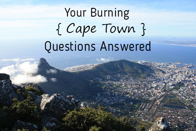 Commonly Asked Questions About Cape Town