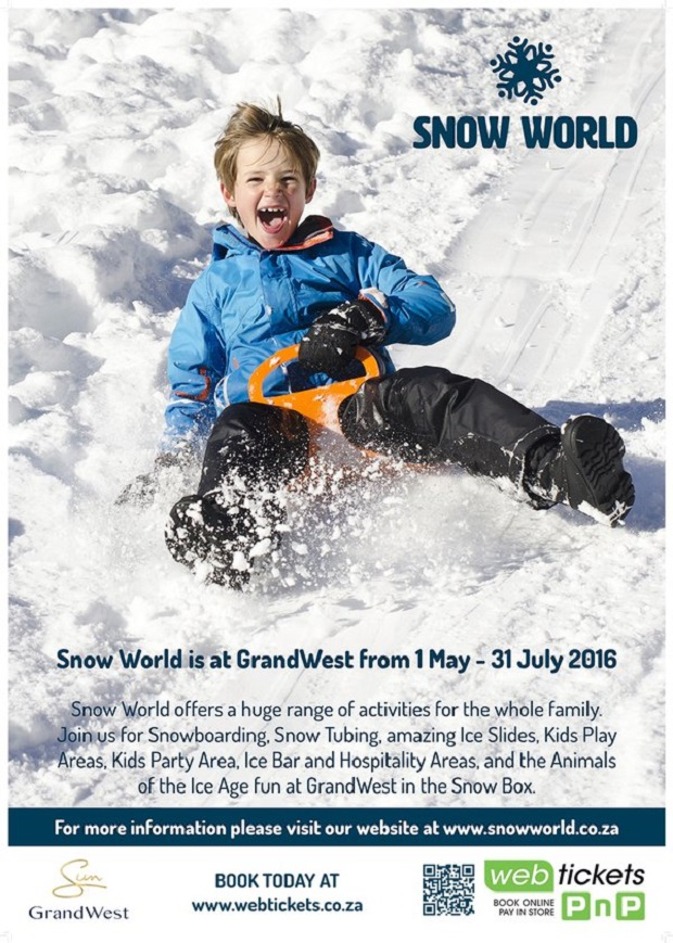 Things to do in Cape Town This Winter: Snow World @ GrandWest