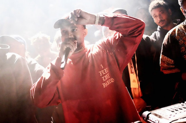 Kanye West Pop-Up Store Cape Town