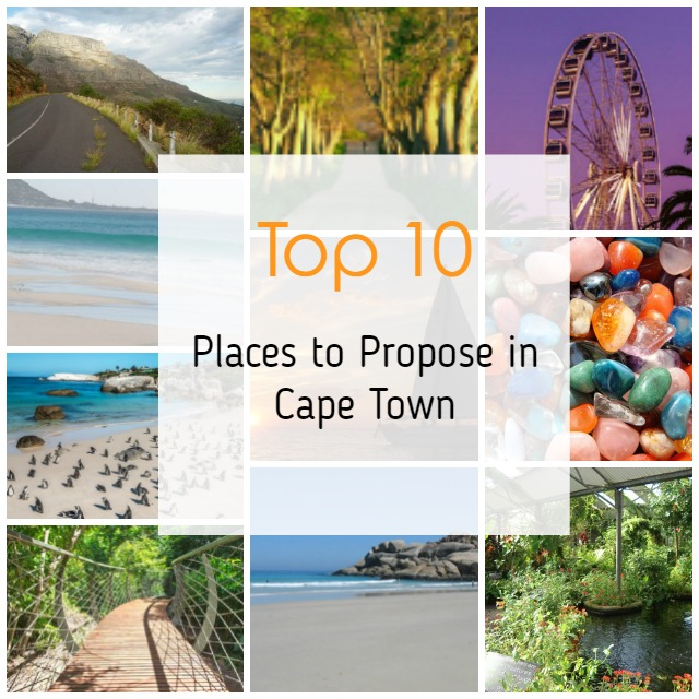 Top 10 Places to Propose in Cape Town
