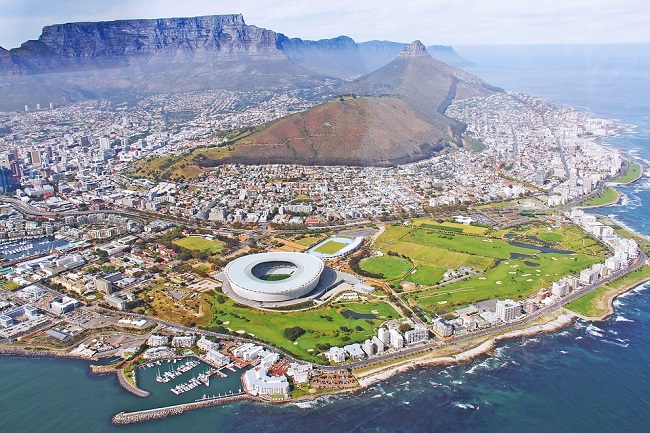 Cape Town Awards Arial View
