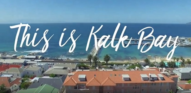 This is Kalk Bay in Cape Town