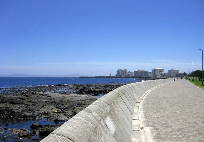 Sea Point Promenade in Cape Town