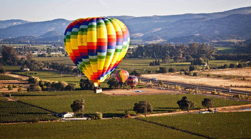 Cape Winelands Hot Air Ballooning