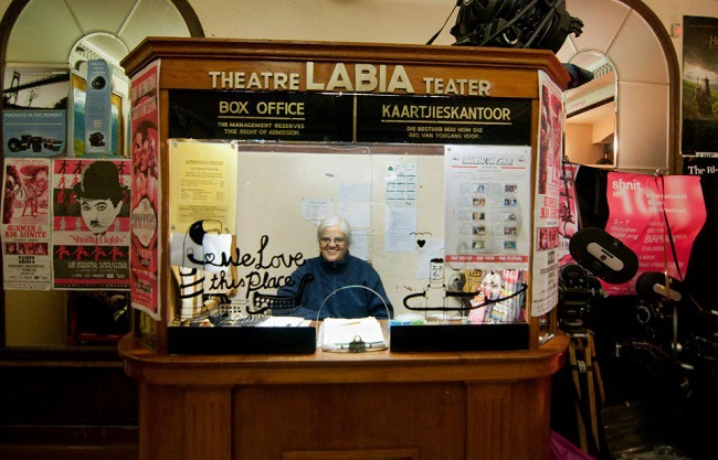 The Labia Theatre in Cape Town - Ticket Office