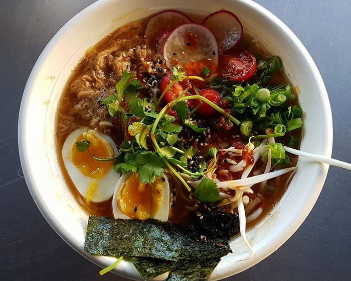 Cape Town Street Food - 8 Exotic Dishes You'll Find On The Streets - Pork Ramen