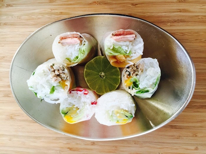 Cape Town Street Food - 8 Exotic Dishes You'll Find On The Streets - Rice Paper Rolls