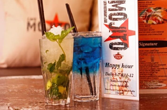 Cape Town's Best Long Street Bars - Cafe Mojito