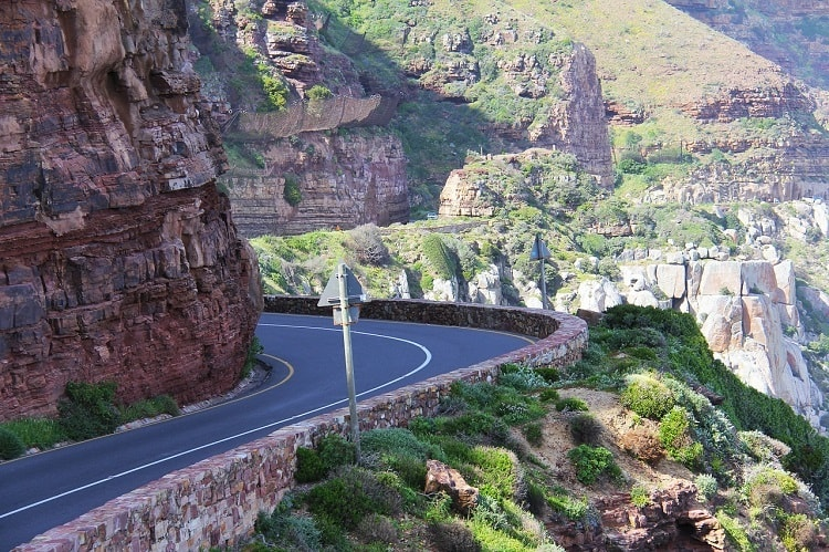 Chapmans Peak - attractions that define Cape Town