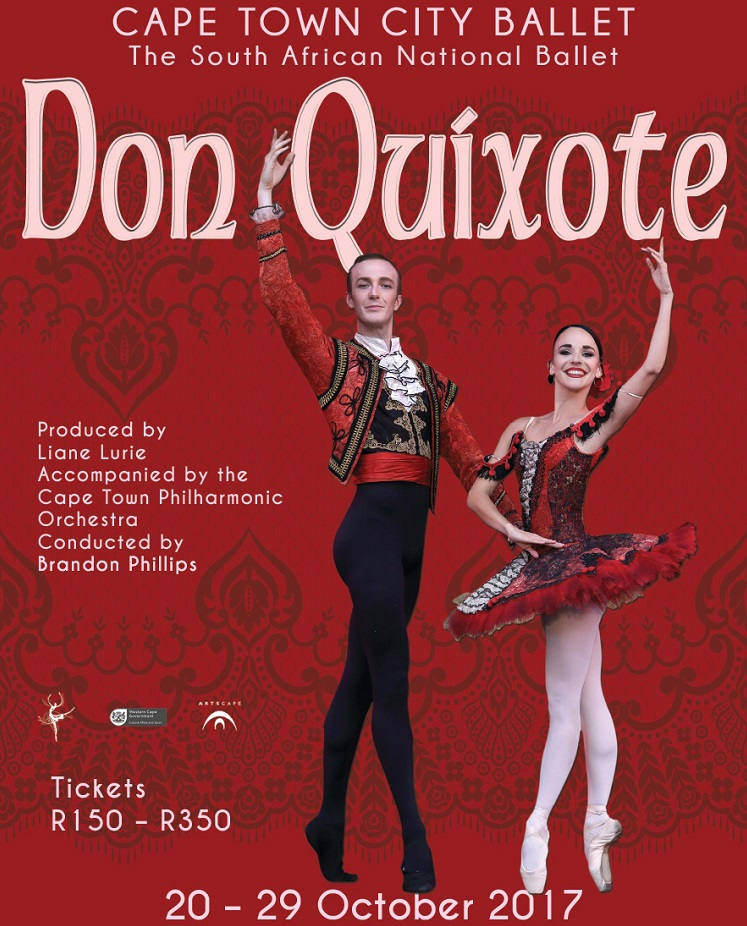 8 Best Things to do in Cape Town This Weekend — 20-22 October 2017 - Don Quixote at Cape Town City Ballet