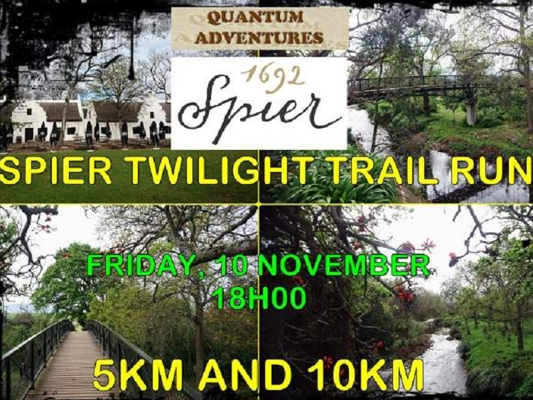 8 Best Things to do in Cape Town This Weekend — 10 -12 November 2017 - Spier Twilight Trail Run
