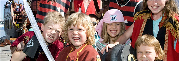 12 Fun Treats and Activities for Kids in Cape Town This Summer - Pirate Boats