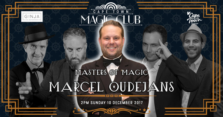 8 Must-See Events Happening in Cape Town This December - Masters of Magic Marcel Oudejans