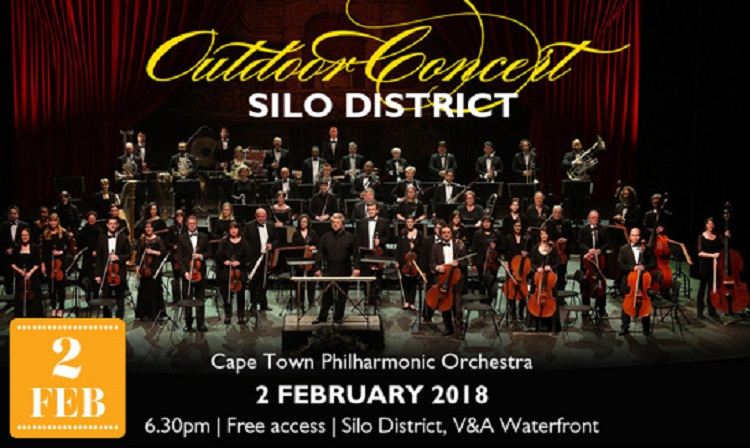 Best Things to do in Cape Town This Weekend — 2 - 4 February 2018 - Outdoor Concerts Silo District - Cape Town Philharmonic Orchestra