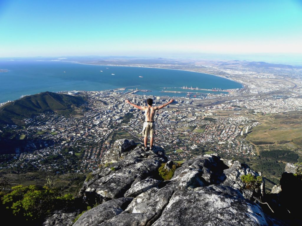 vacation in Cape Town