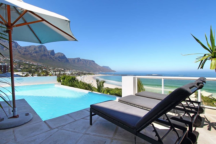 10 Luxury Villas in Cape Town With the Most Breathtaking Views - Beach Villa