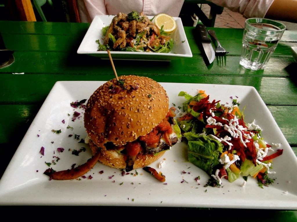 burgers in Cape Town