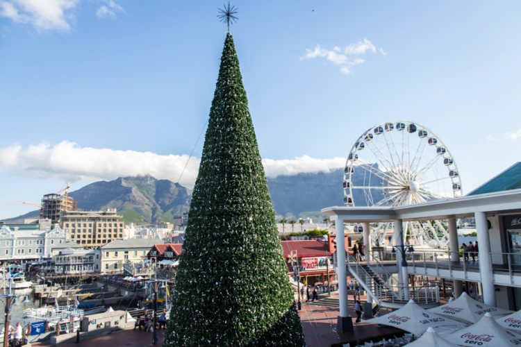 Holiday season in Cape Town