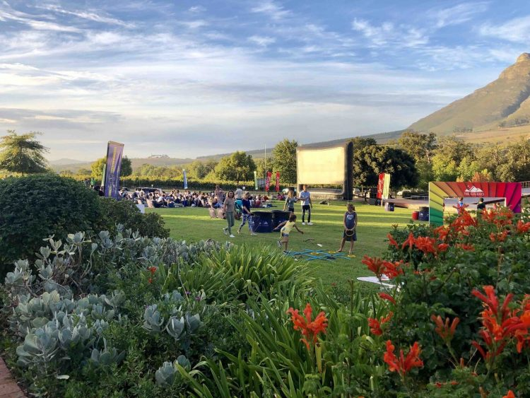 est outdoor movie experience in Cape Town
