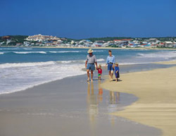 Cape Town beach holiday